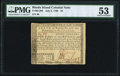 Colonial Notes:Rhode Island, Fully Signed Rhode Island July 2, 1780 $8 PMG About Uncirculated53.. ...