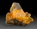 Minerals:Cabinet Specimens, Selenite with Halite. Peru. 4.83 x 3.57 x 2.93 inches (12.26 x9.06 x 7.45 cm). ...