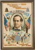 """Political:Posters & Broadsides (1896-present), William Jennings Bryan: The Iconic """"Octopus"""" Poster from the 1900Election. ..."""
