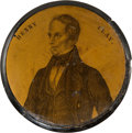 Political:3D & Other Display (pre-1896), Henry Clay: Very Unusual and Visually Striking Portrait Snuff Box....