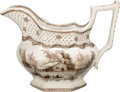 """Political:3D & Other Display (pre-1896), William Henry Harrison: """"Columbian Star"""" Creamer...."""