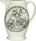 Political:3D & Other Display (pre-1896), John Adams: Choice Liverpool Portrait Jug. . ...