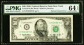 Solvent Smear on Face Error Fr. 2125-B $50 1993 Federal Reserve Note. PMG Choice Uncirculated 64 EPQ