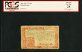Colonial Notes:Pennsylvania, Pennsylvania April 10, 1777 £4 Red and Black PCGS Apparent Very Fine 25.. ...