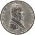 Political:Tokens & Medals, Andrew Jackson: Rare AJACK-1828-10 Campaign Medal in ExceptionalCondition.. ...