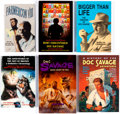 Books:General, Doc Savage Non-Fiction Books Group of 6 (Various Publishers, 1990-2013).... (Total: 6 Items)