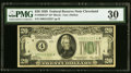 Small Size:Federal Reserve Notes, Fr. 2050-D* $20 1928 Federal Reserve Star Note. PMG Very Fine 30.....