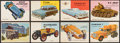 "Non-Sport Cards:Lots, 1954-55 Topps ""World On Wheels"" Collection (53)...."