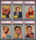 "Non-Sport Cards:Lots, 1957 Topps ""Hit Stars"" Collection (56)...."
