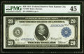 Large Size:Federal Reserve Notes, Fr. 1000 $20 1914 Federal Reserve Note PMG Choice Extremely Fine 45.. ...