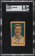 Baseball Cards:Singles (Pre-1930), 1920 W520 Christy Mathewson #2 SGC Fair 1.5....