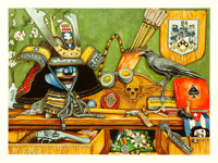 A Deadly Career by Gerald Wadsworth (2019). Near Mint. Signed and Hand-Numbered Limited Edition Giclée Print (23...