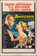 "Movie Posters:Drama, Anastasia (20th Century Fox, 1956). Folded, Fine/Very Fine. OneSheet (27"" X 41""). Drama.. ..."