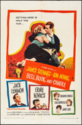 "Movie Posters:Romance, Bell, Book and Candle (Columbia, 1958). Folded, Fine/Very Fine. One Sheet (27"" X 41""). Romance.. ..."