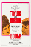 "Movie Posters:Drama, Boom! & Other Lot (Universal, 1968). Folded, Very Fine. One Sheets (2) (27"" X 41""). Drama.. ... (Total: 2 Items)"
