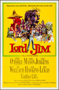 "Movie Posters:Adventure, Lord Jim (Columbia, 1965). Folded, Very Fine+. One Sheet (27"" X41"") & Lobby Card Set of 8 (11"" X 14""). Howard Terpning Artw...(Total: 9 Items)"