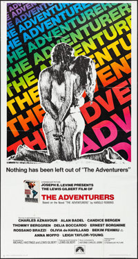 "The Adventurers (Paramount, 1970). Folded, Very Fine. International Three Sheet (41"" X 77""). Adventure"