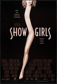 "Showgirls & Other Lot (MGM/UA, 1995). Rolled and Folded, Very Fine. One Sheets (3) (27"" X 40"" &amp..."