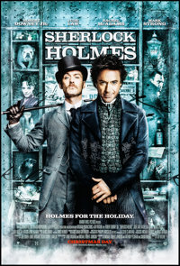 "Sherlock Holmes (Warner Brothers, 2009). Rolled, Near Mint. One Sheet (27"" X 40"") DS Advance. Mystery"