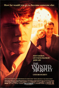 """The Talented Mr. Ripley & Other Lot (Paramount, 1999). Rolled, Very Fine+. One Sheets (3) (27"""" X 40"""" &..."""