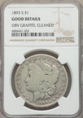1893-S $1 -- Obv Graffiti, Cleaned -- NGC Details. Good. NGC Census: (333/2709). PCGS Population: (408/6081). CDN: $1,75...