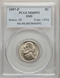 1997-P 5C SMS MS69 Full Steps PCGS. PCGS Population: (1047/156). NGC Census: (710/343). ...(PCGS# 84140)