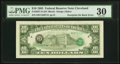 Error Notes:Third Printing on Reverse, Third Printing on Back Error Fr. 2027-D $10 1985 Federal Reserve Note. PMG Very Fine 30.. ...