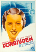 Movie Posters:Drama, Forbidden (Columbia, 1932). Folded, Very Fine-. Sw...
