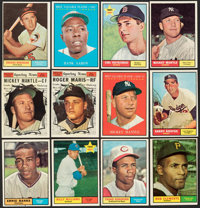 1961 Topps Baseball Collection (867)