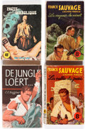 Books:General, Doc Savage Foreign Editions Box Lot (Various, 1960s-80s)....