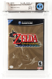 The Legend of Zelda: The Wind Waker (GameCube, Nintendo, 2003) Wata 9.4 A++ (Seal Rating)