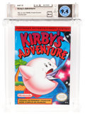 Video Games:Nintendo, Kirby's Adventure (NES, Nintendo, 1993) Wata 9.4 A++ (Seal Rating) French Version....