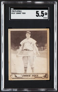 Baseball Cards:Singles (1940-1949), 1940 Play Ball Jimmie Foxx #133 SGC EX+ 5.5....