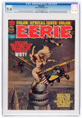 Magazines:Horror, Eerie #81 (Warren, 1977) CGC NM 9.4 Off-white to white pages....
