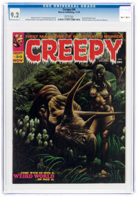 Creepy #36 (Warren, 1970) CGC NM- 9.2 White pages