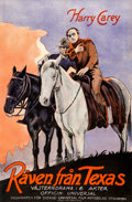 """Movie Posters:Western, The Fox (Universal, 1923). Fine/Very Fine on Linen. Full-Bleed Swedish One Sheet (23"""" X 35"""").. ..."""