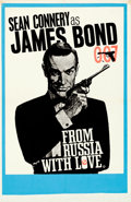 Movie Posters:James Bond, From Russia with Love (United Artists, 1964). Fine+on Pape...