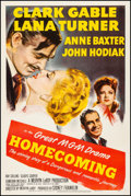 Movie Posters:Drama, Homecoming (MGM, 1948). Fine/Very Fine on Linen. O...