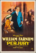 Movie Posters:Drama, Perjury (Fox, 1921). Fine/Very Fine on Linen. One ...