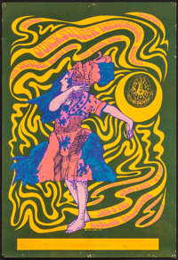 "The Quicksilver Messenger Service (Family Dog, 1966). Very Fine-. 1st Printing Concert Poster (13"" X 19"") Vict..."