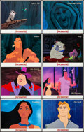 """Movie Posters:Animation, Pocahontas & Other Lot (Buena Vista, 1995). Very Fine+. Lobby Card Set of 16 & Lobby Card Set of 12 (11"""" X 14""""). Animation.... (Total: 28 Items)"""