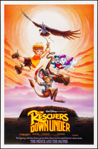 "The Rescuers Down Under & Other Lot (Buena Vista, 1990). Rolled, Very Fine. One Sheet (27"" X 41"") &..."