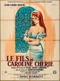 """Movie Posters:Foreign, Caroline and the Rebels (Gaumont, 1955). Folded, Very Good/Fine. French Grande (47.25"""" X 63.5""""). Guy Gerard Noel Artwork. Fo..."""