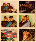 "Movie Posters:War, Hell's Angels (United Artists, R-1937). Fine/Very Fine. Title Lobby Card & Lobby Cards (5) (11"" X 14"") with Original Studio ... (Total: 7 Items)"