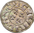 France, France: Aquitaine. William IX (1086-1126) or William X (1127-1137) Denier ND XF40 NGC,...