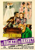 Movie Posters:Musical, The Harvey Girls (MGM, 1949). Fine/Very Fine on Linen....