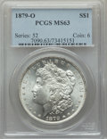 Morgan Dollars: , 1879-O $1 MS63 PCGS. PCGS Population: (4156/2866). NGC Census: (2485/1496). CDN: $220 Whsle. Bid for problem-free NGC/PCGS ...