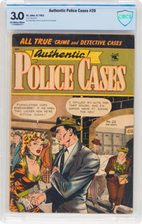 Authentic Police Cases #29 (St. John, 1953) CBCS GD/VG 3.0 Off-white to white pages