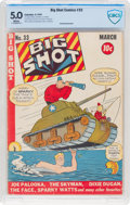 Golden Age (1938-1955):Miscellaneous, Big Shot Comics #33 (Columbia, 1943) CBCS VG/FN 5.0 White pages....