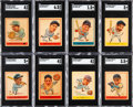 Baseball Cards:Sets, 1938 Goudey Heads-Up Low Number (241-264) Complete Set (24)....